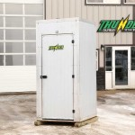 Heated Outhouse - Heated Bathrooms on Trailer or without