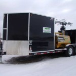 Combo Trailer - 20KW Lightkit / Garbage / Outhouse